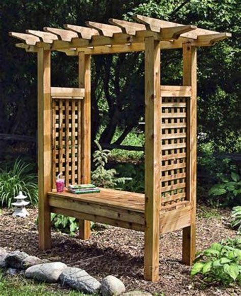 Arbor Swing Plans Outdoor Furniture Plans Projects Patio Furniture Arbor