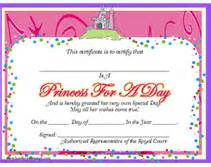 princess certificate template certificate templates free printable certificates and