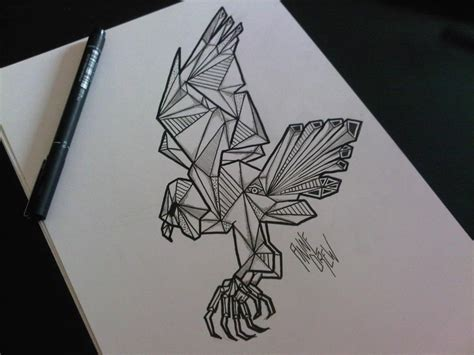 tattoo eagle sketch eagle tattoo sketch graphic skull drawings pinterest