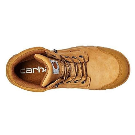 carhartt rugged flex 6 work boots leather s s carhartt 6 quot rugged flex ct wp workboots