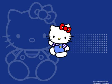 Wallpaper Hello Kitty Blue | my hello kitty cute hello kitty wallpaper s