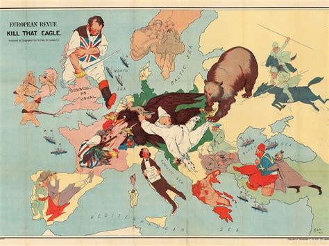 Germany Austria Hungary And The Ottoman Empire The Octopuses Of War Ww1 Propaganda Maps In Pictures Austro Hungarian