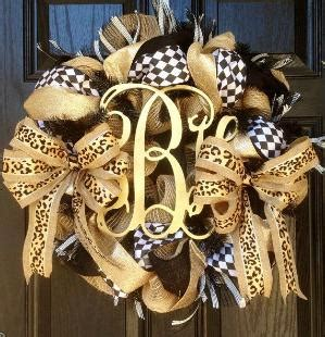 cross wreath country home decor black and gold wooden burlap wreath black burlap wreath leopard print