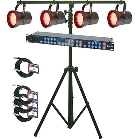 lighting system american dj p36 led system musician s friend