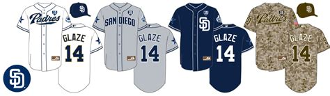 padres colors san diego padres jersey history presented by the glaze page