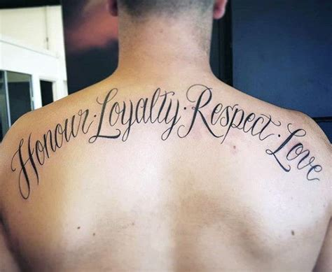 loyalty respect tattoo pics for gt respect loyalty