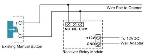 Garage Door Button Wire How Can I Replace Garage Door Opener Remotes Home Improvement Stack Exchange