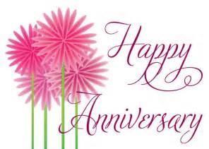 Happy anniversary fun flowers