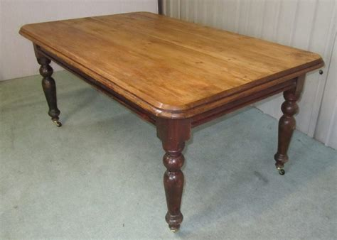 Large Farmhouse Kitchen Table Large Pine Farmhouse Kitchen Table Antiques Atlas