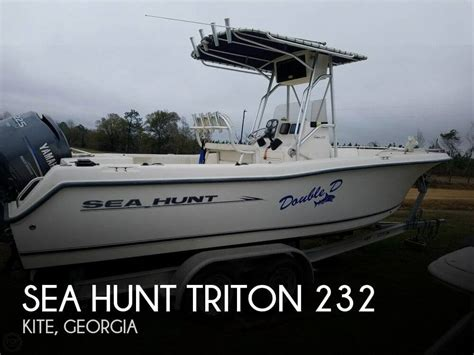used sea hunt triton boats for sale for sale used 2005 sea hunt triton 232 in kite georgia