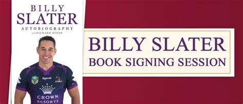 a will slater thriller will slater series books billy slater book signing session brisbane eventfinda