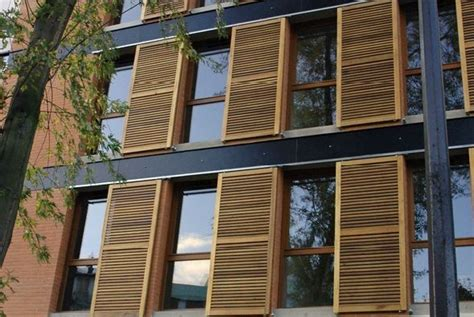Volets Bois Coulissants Exterieurs 4287 by Auzeo Habitat Volets Coulissants