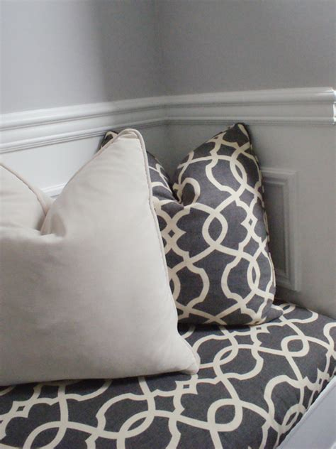 built in bench cushions how to build a no sew bench cushion the minted mama