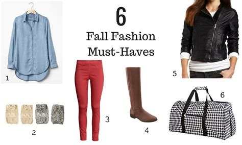 6 fall fashion must haves for the write balance