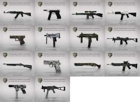 Bank Collection by Steam Community Guide Closed Skins Camos Guide
