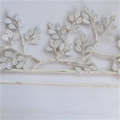 towel bar holder shabby chic iron metal from mollymcshabby on
