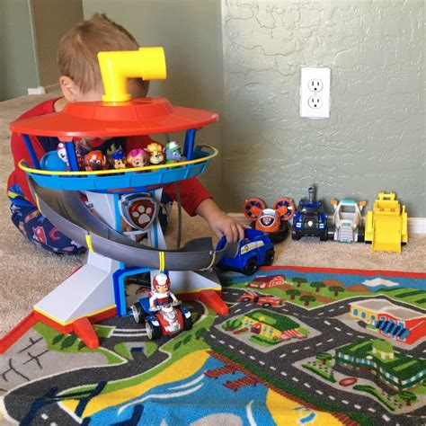paw patrol lookout tower toy review quot to the lookout