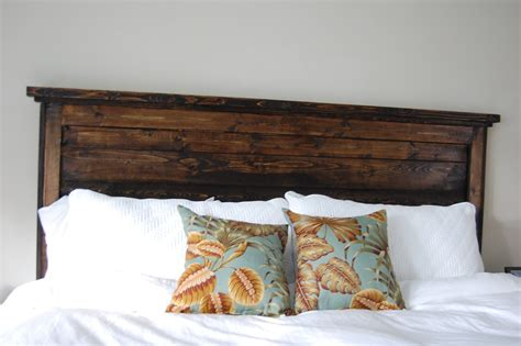 white king headboard wood ana white king reclaimed look headboard diy projects