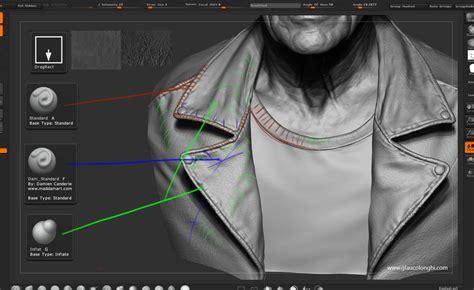 zbrush jacket tutorial a realtime portrait huge making of tutorial