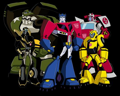 wallpaper transformers cartoon transformers animated autobots group 1280 x 1024 jpg