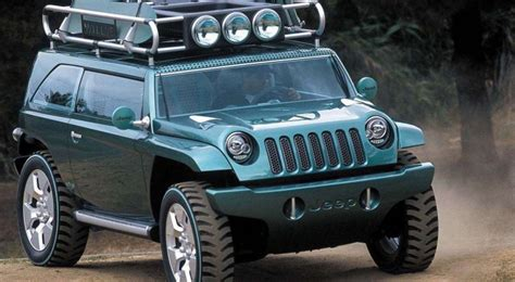 4 strange yet jeep concepts kendall jeep