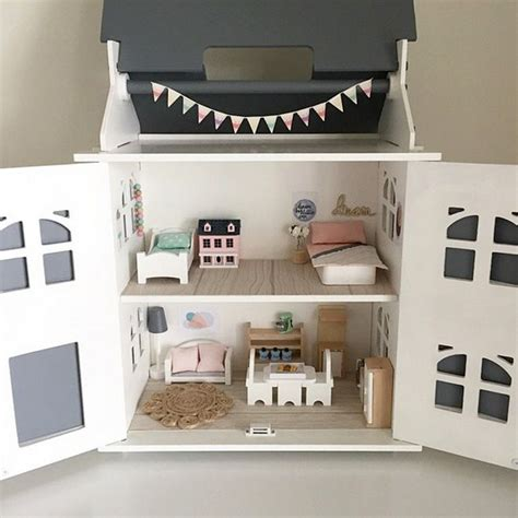 kmart barbie doll house kmart hacks dollhouse this very talented mum even made the coil rug and dream wall