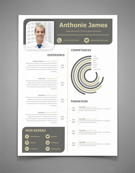 Office Google by Exemple De Cv Graphique L Cr 233 Er Un Cv