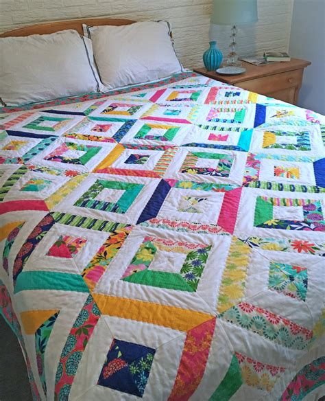 quilt pattern summer in the park summer in the park quilt modern quilt full size quilt queen