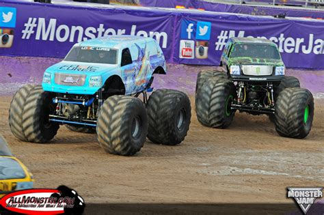 monster truck jam las vegas las vegas nevada monster jam young guns shootout