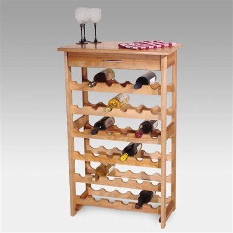 Wine Rack Floor Standing by Detroit 36 Bottle Floor Standing Wine Rack Traditional
