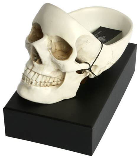 Skull Desk Accessories Skull Tidy Desk Organizer Contemporary Desk Accessories By Convenient Gadgets Gifts