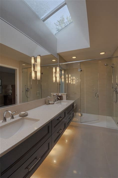 bathroom under cabinet lighting vollinger residence