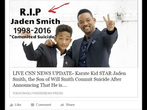 Smith Is Deceased by Jaden Smith Dead News