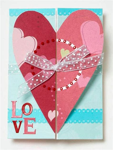 Handmade Ideas For Valentines Day - 32 ideas for handmade s day card interior