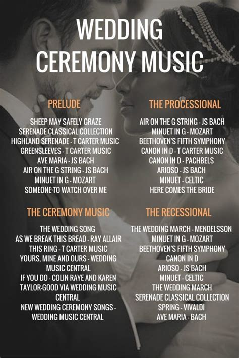 Wedding Ceremony Music: How to Plan Your Ceremony Music