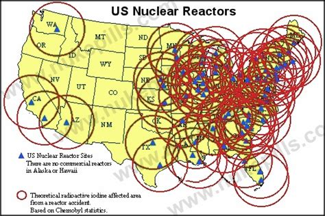 map of nuclear reactors in usa and digital snow days resilience