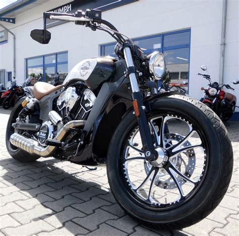Motorradhandel Indian by Umgebautes Motorrad Indian Scout Von Stefan K 252 Mpel
