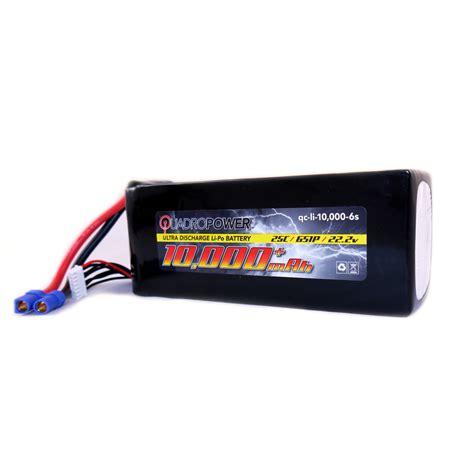 Batery Lipo quadropower 10 000 mah 6s lipo battery