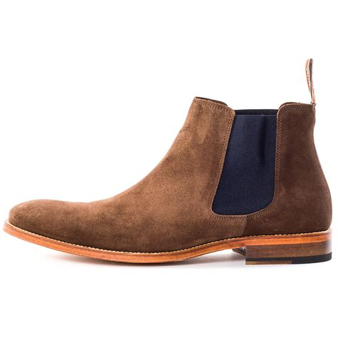 r m williams comfort craftsman mens suede chocolate