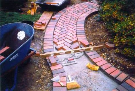 Ideas For Brick Sidewalk Design Landscapes Brick And Pavers