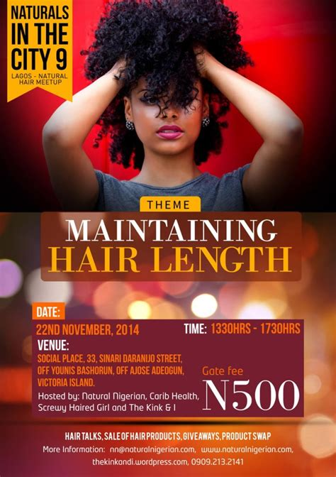 flyers for hair shows naturals in the city 9 november 22 don t touch the hair