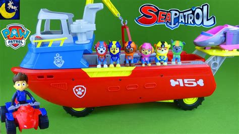 paw patrol fire boat paw patrol toys sea patroller boat with sea patrol ryder