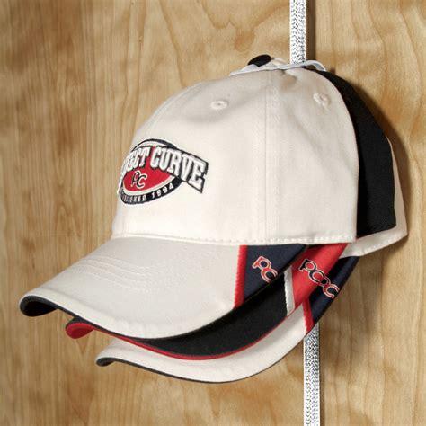 wall mounted baseball cap rack hangers ideas hat organizer