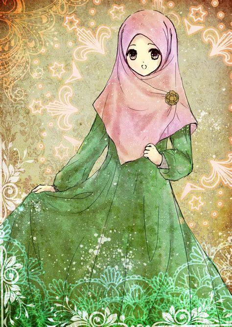 arab anime images  pinterest hijab cartoon