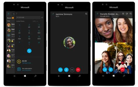 skype in mobile skype preview for windows 10 mobile and pc updated with