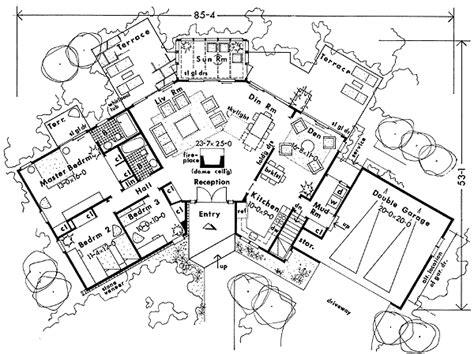 passive solar ranch house plans passive solar energy house plan