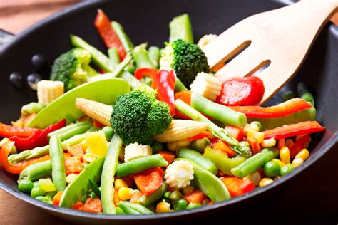 vegetables for stir fry spicy garlic vegetable stir fry with tender baby corn