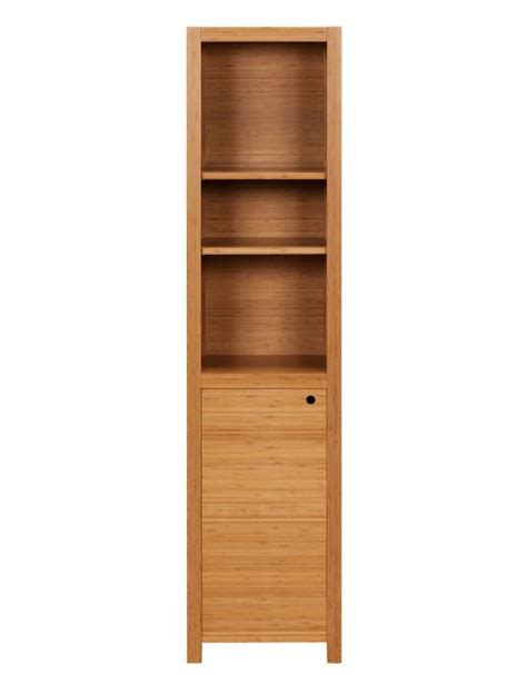 slim bathroom storage cabinet by oakridge freestanding bathroom cabinets our pick of the best