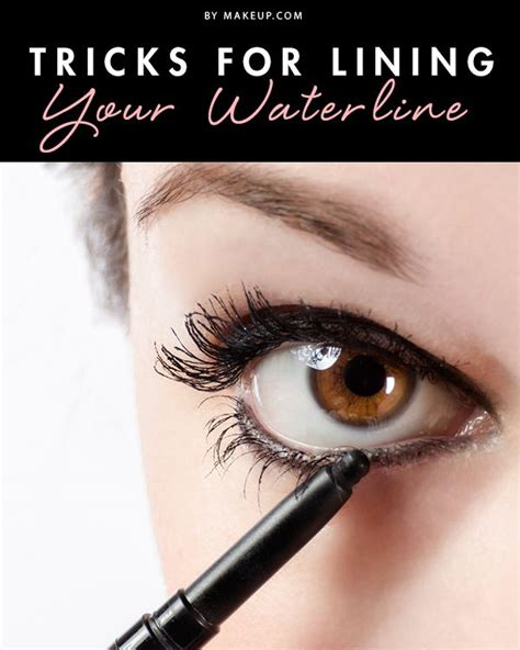 tutorial eyeliner penna tricks for lining your waterline will have brushes and