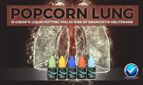 Popcorn lung or bronchiolitis obliterans and vaping